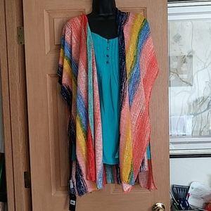 NWT Janice Apparel Kimono